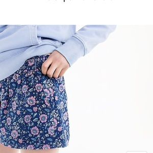 J. Crew floral pull on shorts